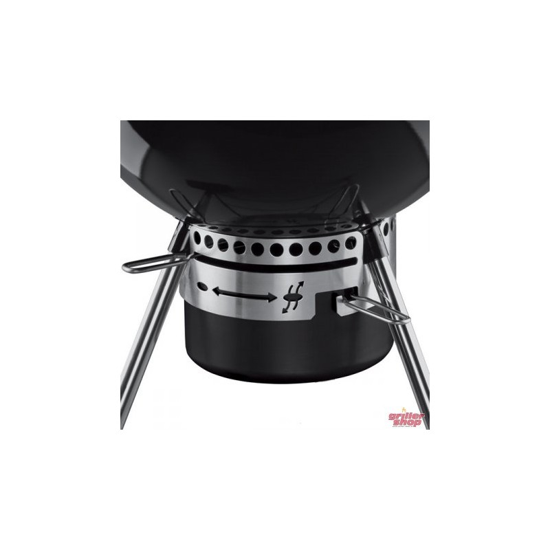 Weber charcoal grill one touch premium 47 cm kitchenwarehub for Barbecue weber one touch premium