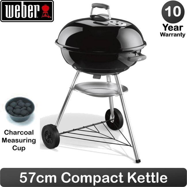 weber charcoal grill compact 57 cm kitchenwarehub. Black Bedroom Furniture Sets. Home Design Ideas