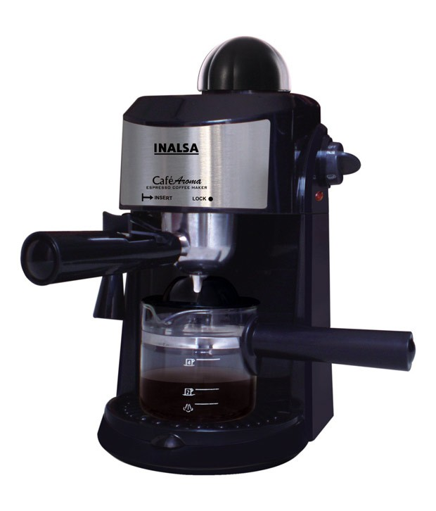 Coffee Maker Cafe : Inalsa Espresso Coffee Maker Cafe Aroma 800 Watt - Kitchenwarehub