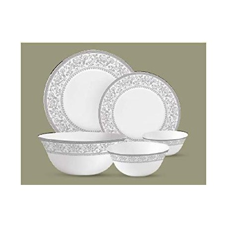 La opala Dinner Set 35pcs, Sovrana Persian Silver