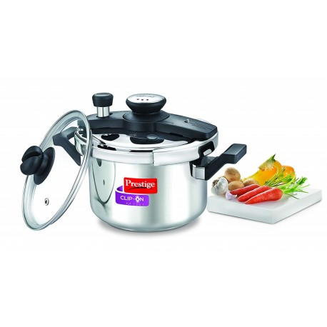 Prestige Clip-On Mini SS Cooker 3ltr. SKU 25679