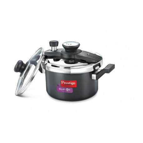 Prestige Clip-On Mini Hard Anodised Cooker 2ltr. SKU 20329
