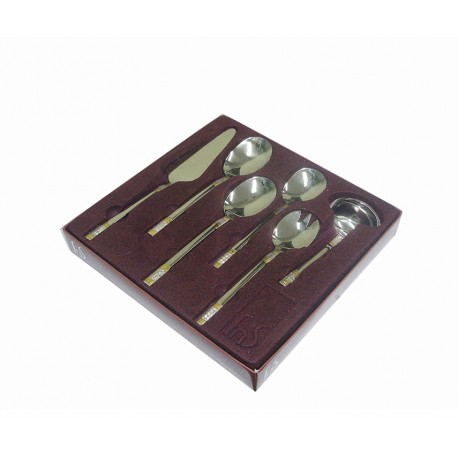 fnS Cutlery Hanging Set Celebration 24Pcs With Baby Spoon