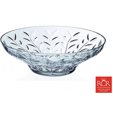 RCR Fusion Centerpiece Crystal Bowl