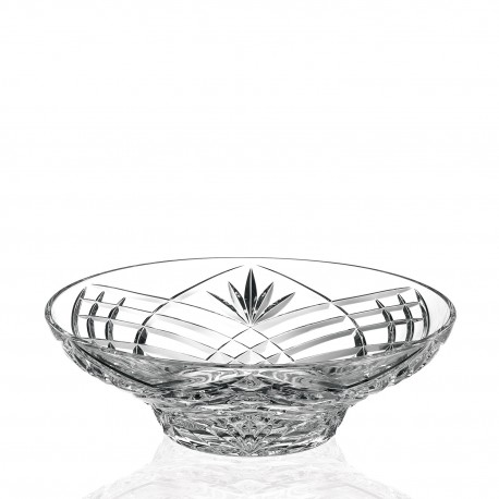 RCR Laurus Centerpiece Crystal Bowl
