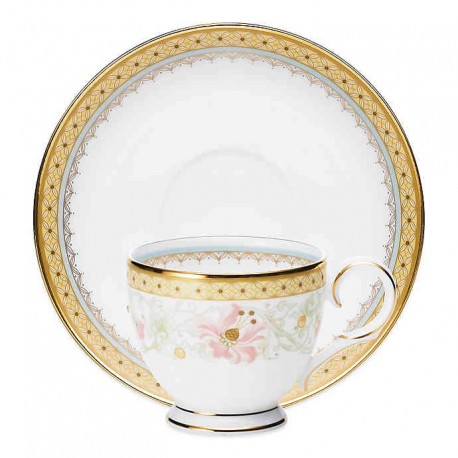 Noritake Cup Saucer Set of 6 (Blooming Splendor)
