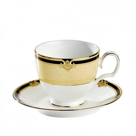 Noritake Cup Saucer Set of 6 (Braidwood)