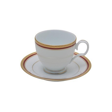 Noritake Cup Saucer Set of 6 (Cecile Gold)