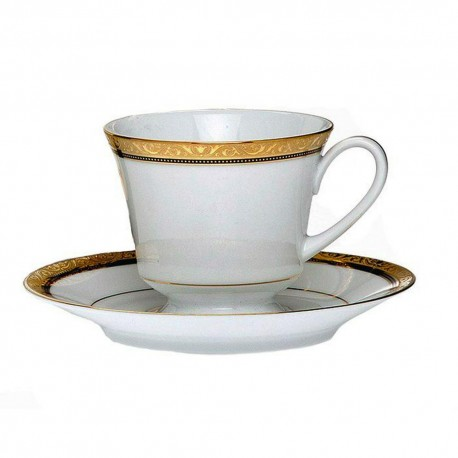 Noritake Cup Saucer Set of 6 (Marble Red)