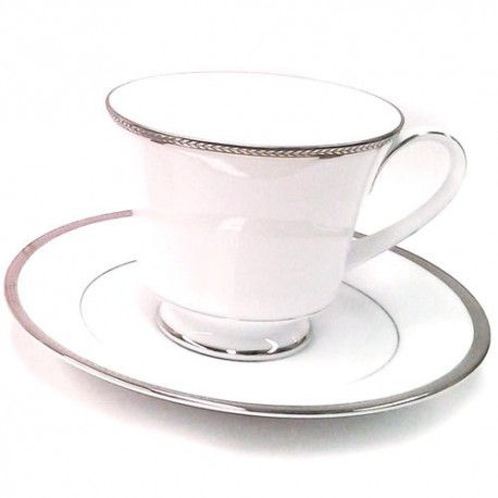 Noritake Cup Saucer Set of 6 (Toorak Gold)