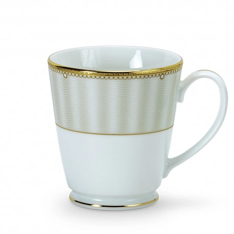 Noritake Milk Mug Set of 2, 370ml (Ville De Lumiere)