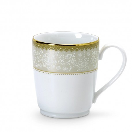 Noritake Coffee Mug Set of 6 (Monacrh Gold)