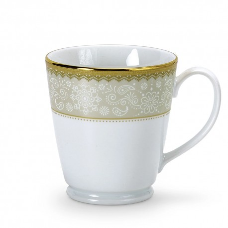 Noritake Milk Mug Set of 2, 370ml (Monarch Gold)