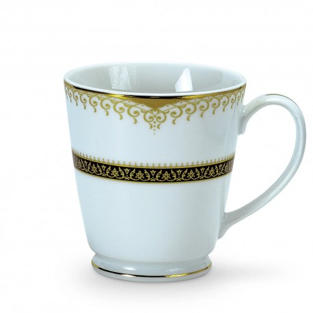Noritake Milk Mug Set of 2, 370ml (Golden Chintz)