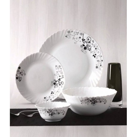 Laopala Diva Dinner Set 27Pcs (Mysterio Black)