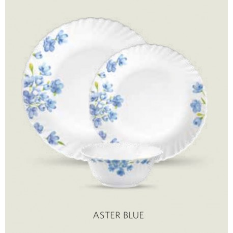 Laopala Diva Dinner Set 27Pcs (Aster Blue)