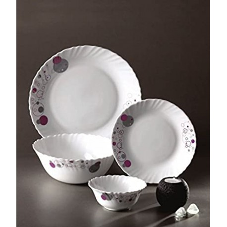 Laopala Diva Dinner Set 27Pcs (Purple Haze)
