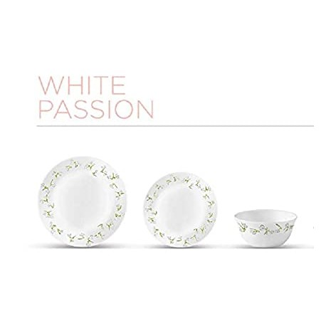 La opala Diva Dinner Set 27Pcs (White Passion)