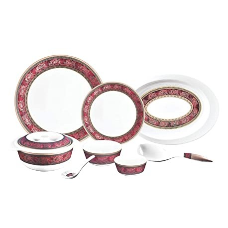 La opala Diva Dinner Set 27Pcs (Purple Haze)