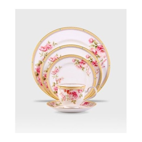 Noritake Porcelain Dinner Set Loxeley 21Pcs (M074)