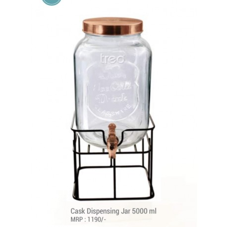 Treo Cask Dispensing Jar, 5000ml