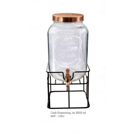 Treo Cask Dispensing Jar, 8000ml