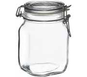 Bormioli Rocco Fido Jar 1000ml (pack of 2)