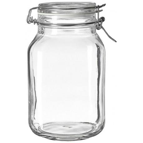 Bormioli Rocco Fido Jar 2000ml(pack of 2)