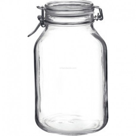 Bormioli Rocco Fido Jar 3000ml(pack of 2)