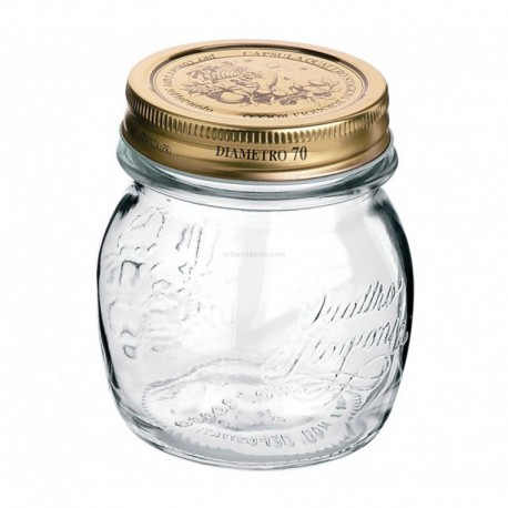 Bormioli Rocco Quattro Jar 150ml(pack of 4)