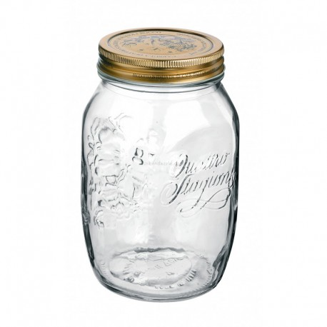 Bormioli Rocco Quattro Jar 500ml(pack of 4)