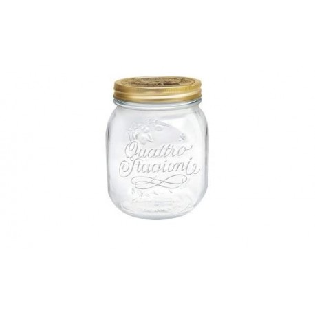 Bormioli Rocco Quattro Jar 700ml(pack of 2)