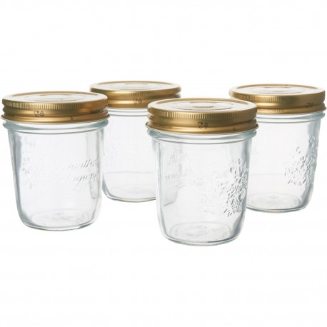 Bormioli Rocco Quattro Jar 320ml(pack of 4)
