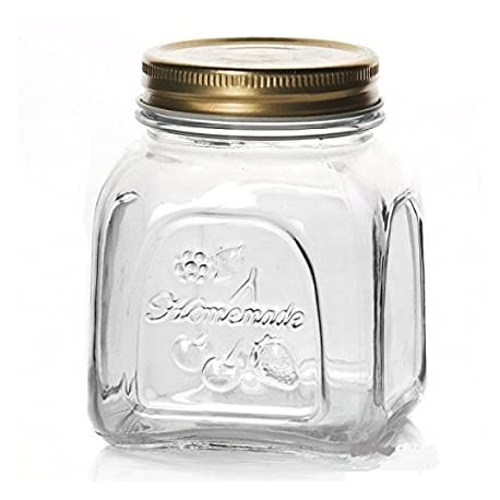 Pasabahce Homemade Jar 500ml (Pack of 4)
