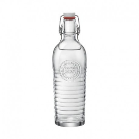 Bormioli Rocco Officina Bottle 1200ml (Pack of 2)