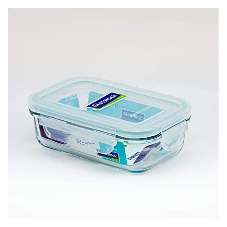Glasslock Tempered Food Container 400ml (Pack of 2)
