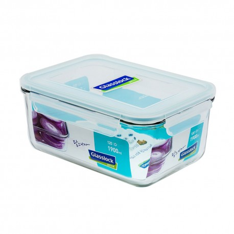 Glasslock Tempered Food Container 1900ml
