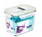 Glasslock Tempered Food Container 1000ml - Vertical