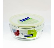 Glasslock Tempered Food Container 950ml - Round