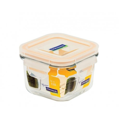 Glasslock Tempered Mini Food Container 120ml (Pack of 2)