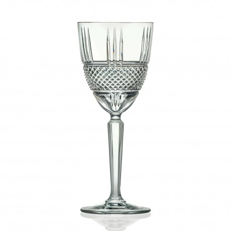 RCR Brilliante Wine Goblet, 290ml - Set of 6