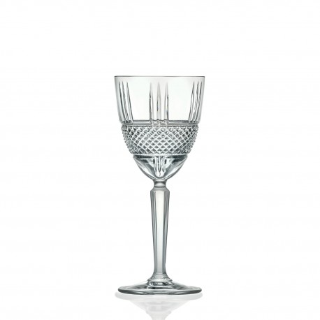 RCR Brilliante Wine Goblet, 250ml - Set of 6
