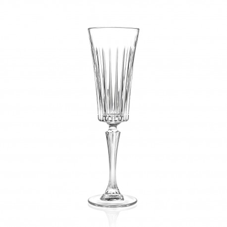 RCR Timeless Flute Champagne Glass,210ml - Set of 6