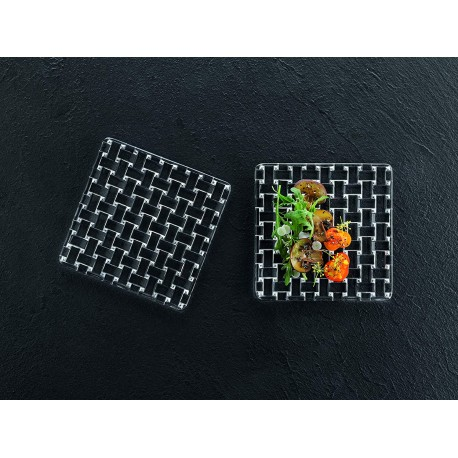 Nachtmann Bossa Nova Square Plate 14cm, set of 2, 101907