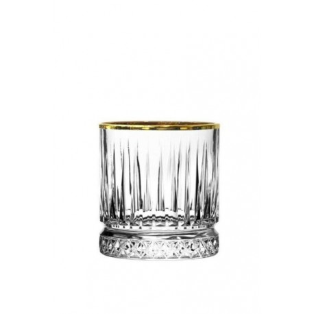 Pasabahce Elysia Gold Rim Juice Glass 210ml (Pack of 6)