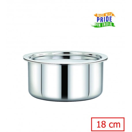 Maxima Triply Stainless Steel  Tope 18cm