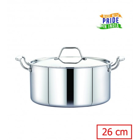 Maxima Triply Stainless Steel Saucepot 26cm