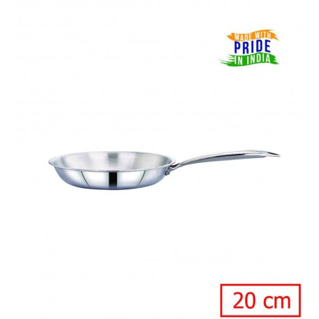 Maxima Triply Stainless Steel Frypan 20cm