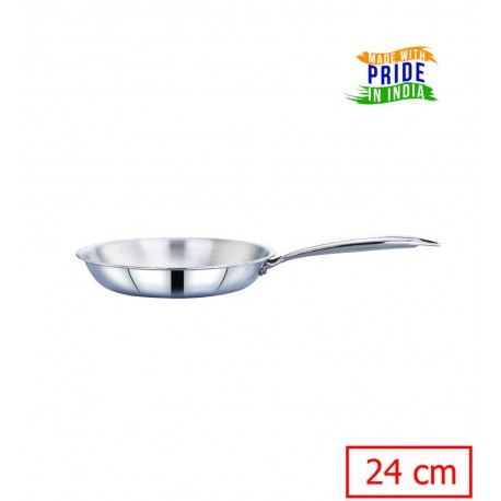 Maxima Triply Stainless Steel Frypan 24cm