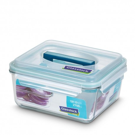 Glasslock Tempered Food Container 2700ml